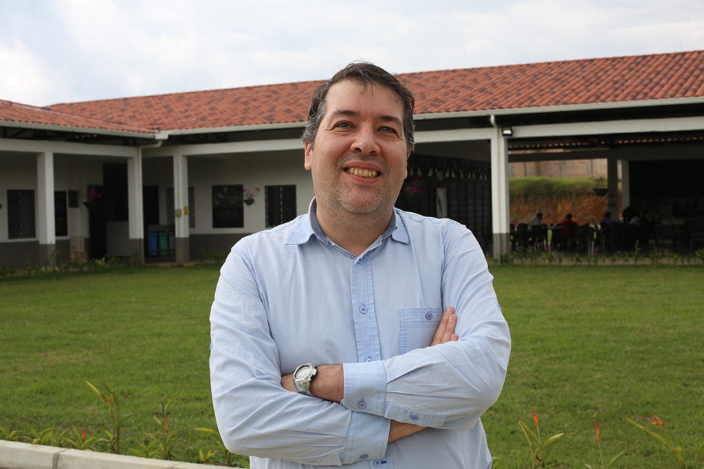 Mario Fernández, Technical Director at the Coffee Quality Institute