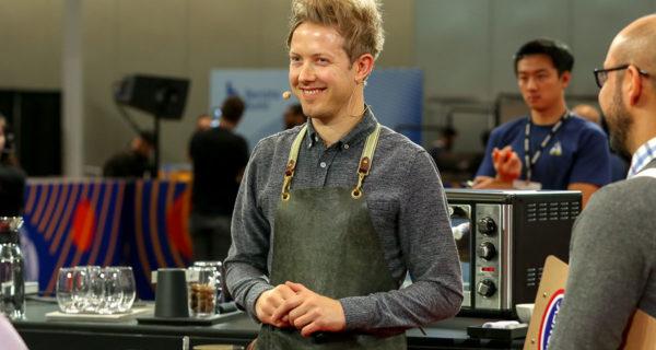 Matthew Lewin World barista championship