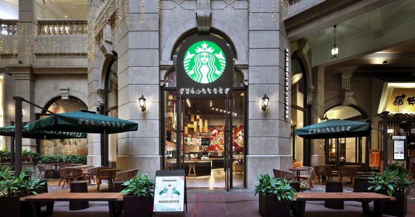 Starbucks sign language China