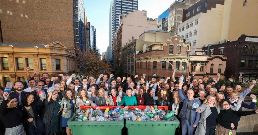 Sydney plastic waste