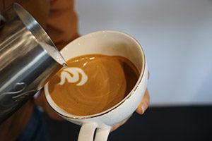Jibbi Little fox latte art