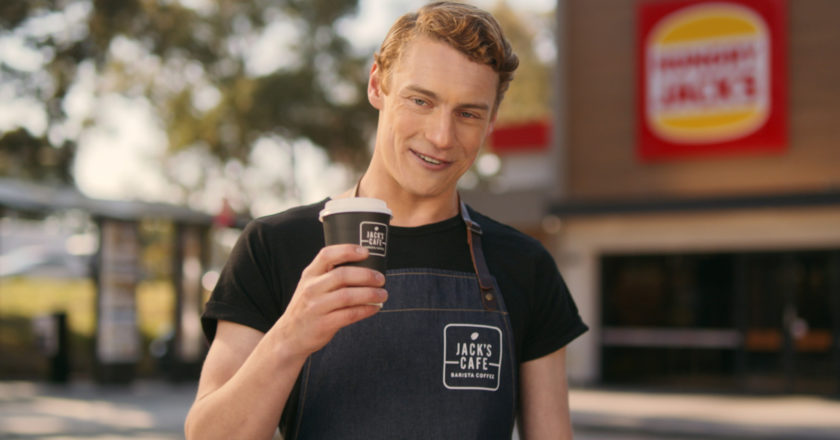 Hungry Jack's barista coffee