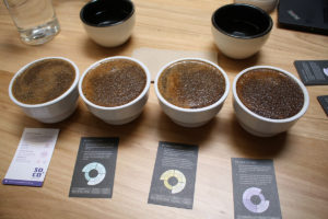 Grinders Coffee cupping