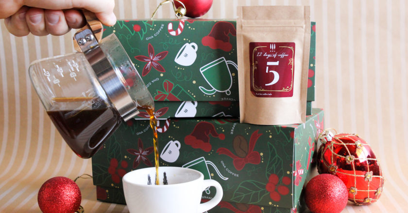 ona coffee christmas