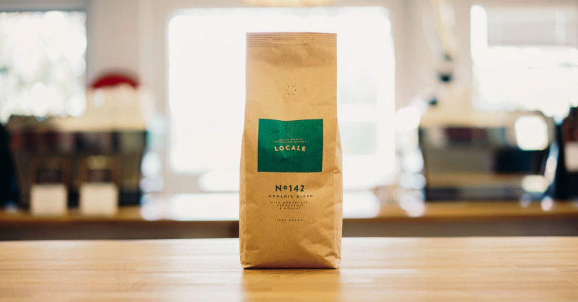 Locale Coffee Roasters organic blend