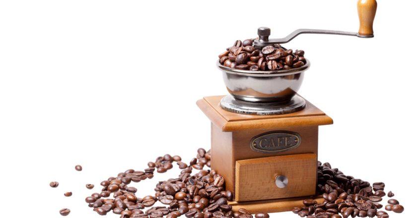 evolution of coffee grinders