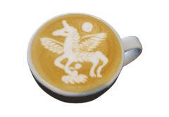 unicorn latte art jibbi little