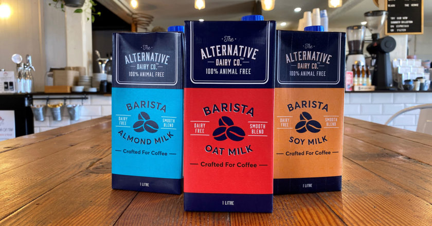 alternative dairy co barista milks