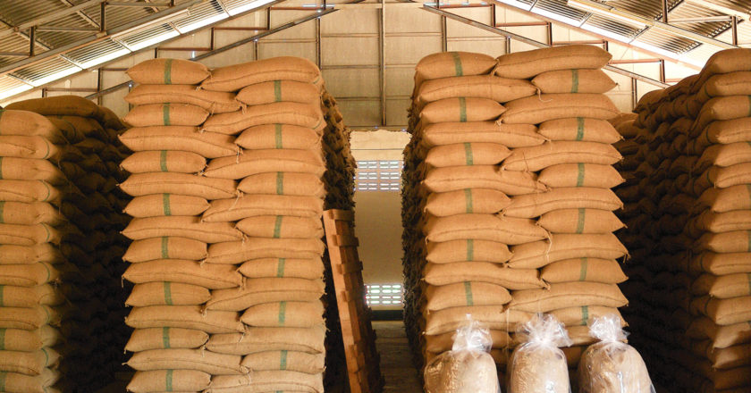 Supply demand April coffee prices