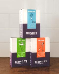 australian grown coffee packaging