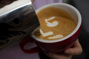 jibbi little kangaroo latte art