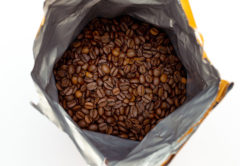 fresh coffee freezing packaging