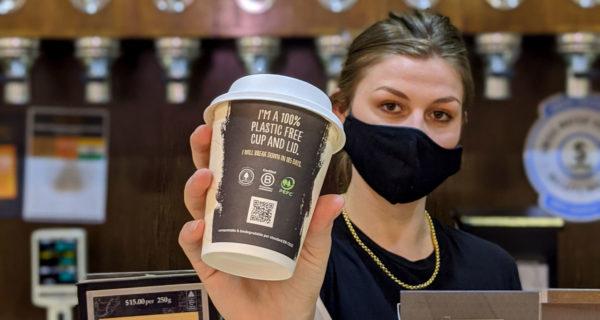 Jasper coffee plastic-free coffee cup