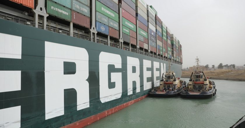 Could the Suez Canal blockage affect Australian coffee supply?
