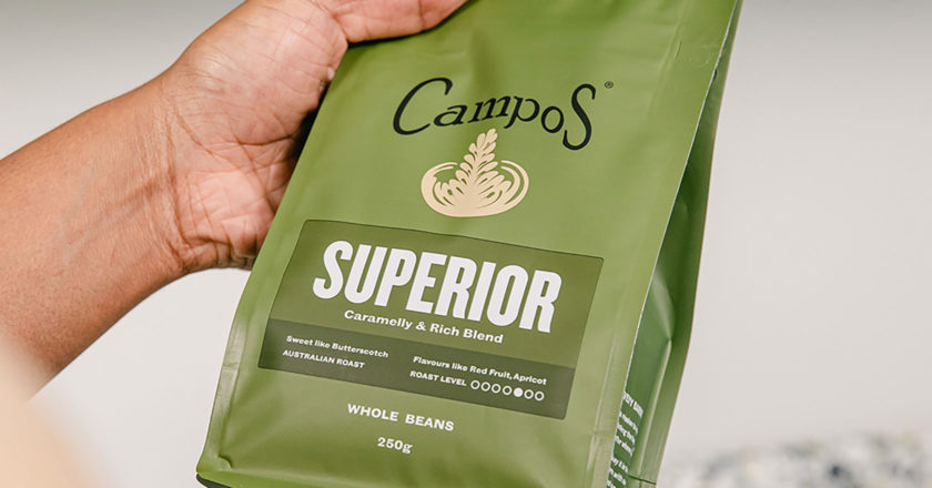 Campos coffee packaging