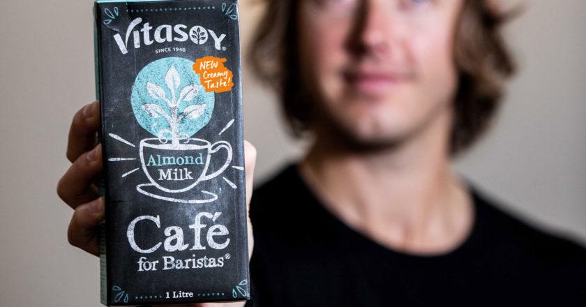 vitasoy cafe almond milk formulation