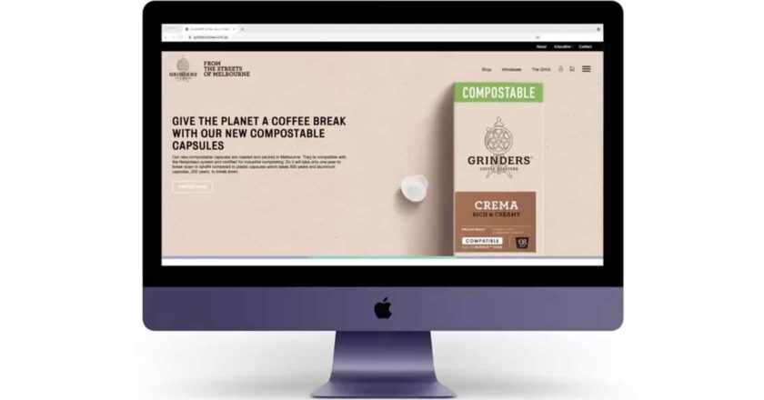 Grinders new website
