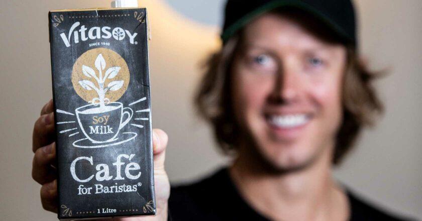 soy milk curdling coffee